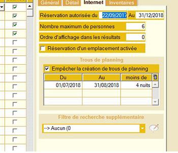 Optimisation planning