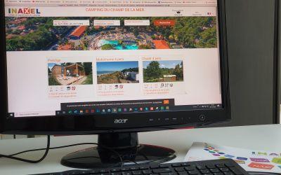 logiciel réservation camping Inaxel